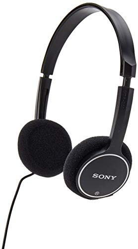 Sony MDR-222KD Childrens Headphones (Black) (Renewed)