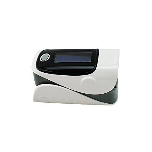 Denshine Color OLED pulsioximetro Oximetro de dedo Con Alarma Audio y Sonido Pulso- Spo2 Monitor De Oximetro De Pulso De Dedo(Gris)