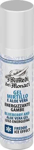 Gel crema gambe effetto freddo, FORMULA POTENZIATA con Mirtillo, Mentolo, menta, Aloe e Mentil lattato. Ideale gambe pesanti e caviglie gonfie, ice effect