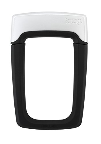 KNOG Strongman U-Lock (Black, 5.15 x 7.75-Inch)
