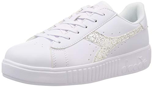 Diadora Scarpe Sneaker Donna Modello Game Step Wn (White/Silver GS - 38)