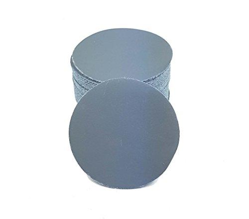 Smirdex 10 Stück 75mm Klett - Schleifscheiben für Exzenterschleifer P4000