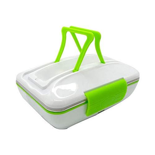 OIPIYUT Boîte à Lunch électrique Portable en Acier Inoxydable et en Plastique pour Le Bureau et la Maison
