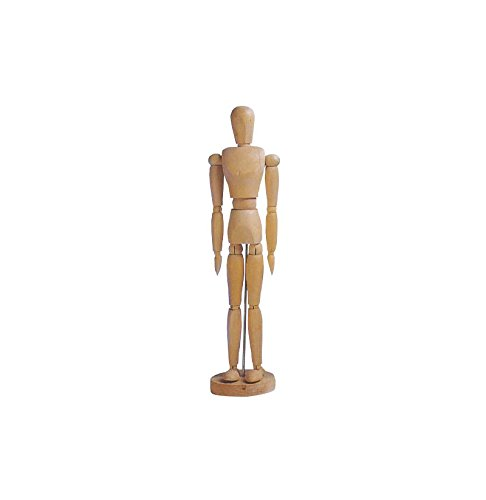 Cornici Paglia Manichino Maschio in Legno MyArte Altezza 31 cm - MANICHINO Uomo, Olmo, 31 CM