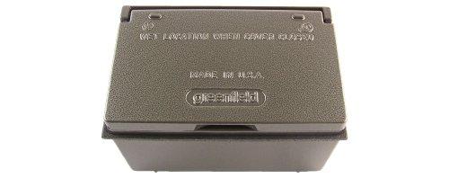 Greenfield KGHBBRU Serie wetterfeste elektrische Box Abdeckung & GFCI Steckdosen-Kit Bronze