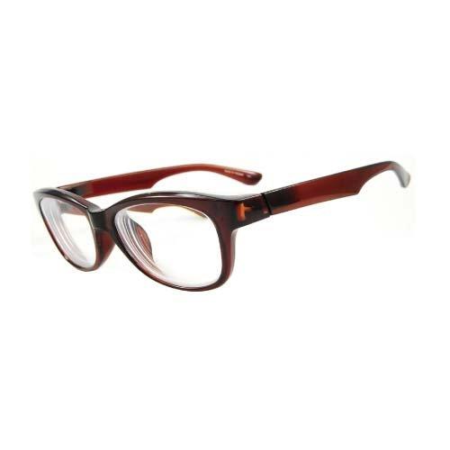 インスタントめがね 近視補正用メガネ IN-3001-2 クリアブラウン -6.00 【目安視力:0.02~0.01】