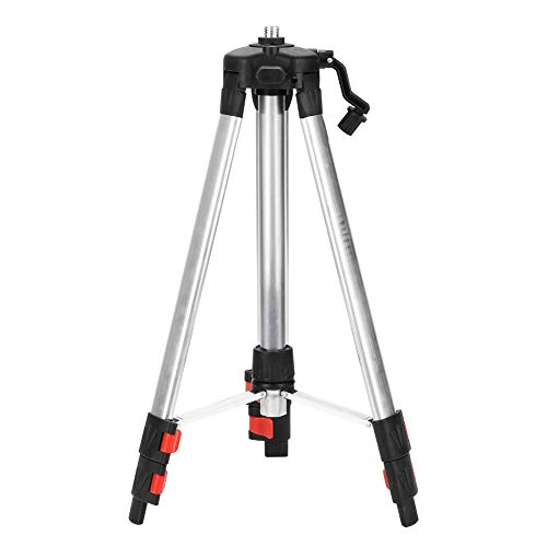 Tripod Level Stand, 1.2M Tripod Level Stand, with Standard Removable Quick Release Plate, for Automatic Self Leveling Level Measurement Tool
