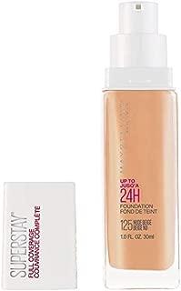 Maybelline New York Super Stay Full Coverage Liquid Foundation Makeup, Nude Beige, 1 Fl Oz
