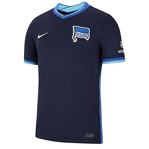 Nike - Hertha BSC Berlin Saison 2021/22 Trikot Away Spielausrüstung, XL, Mann