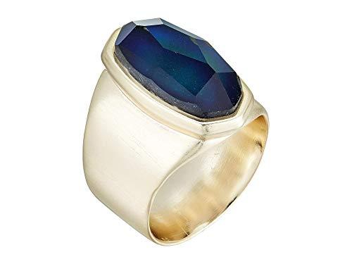 Kendra Scott Leah Ring Gold Mood Stone 6