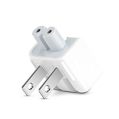 GooDGo® AC Power Adapter, US Wall Plug Duck Head for Apple Mac iBook/iPhone/iPod