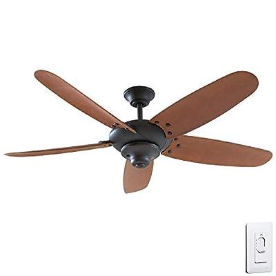 "Home Decorators ""Altura"" 60"" Outdoor Oil Rubbed Bronze Ceiling Fan"
