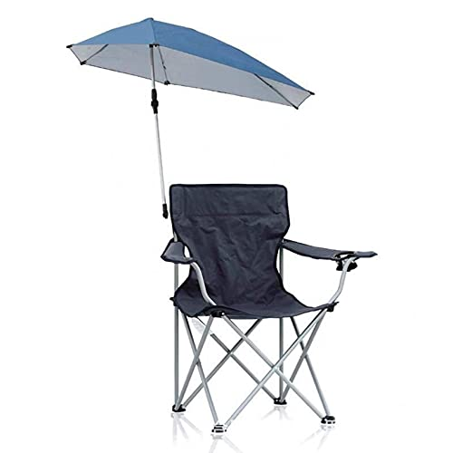 YUYAXPB Silla De Camping Informal Al Aire Libre con Toldo Silla Plegable De Sombrilla Ligera, Sillas De Picnic Plegables