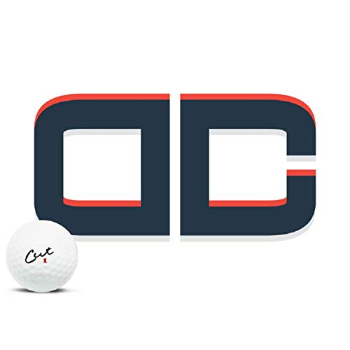 Cut DC Golf Balls, (One Dozen)
