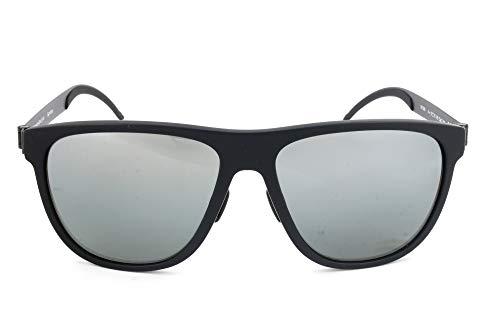 Mercedes-Benz Sonnenbrille M7006 Rechteckig Sonnenbrille 57, Schwarz