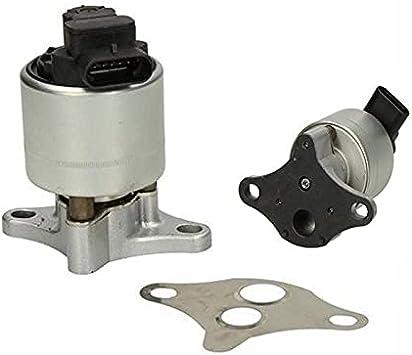 YYLVEV Egr-Ventil 1628.JF / 7.24809.22.0 9628355780 / FIT FOR Peugeot/Ajuste para Citroen 1.8-2.0L 16V (Color : Silver)