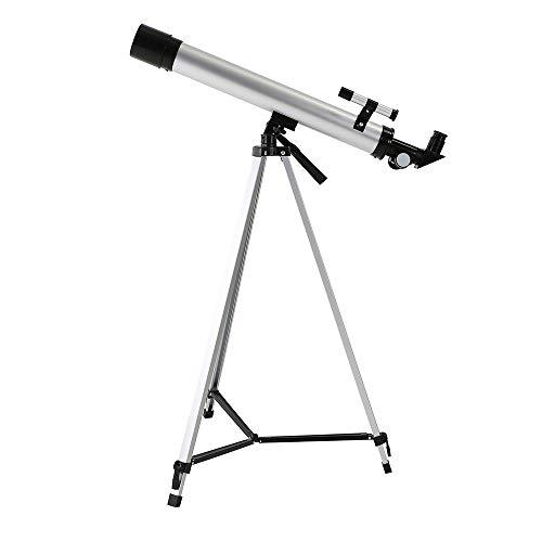 QYH 50600 telescopio de Alta definición de Alta Potencia de Nivel de Entrada al Aire Libre con Vista de Estrellas, Gafas de Luna para la astronomía