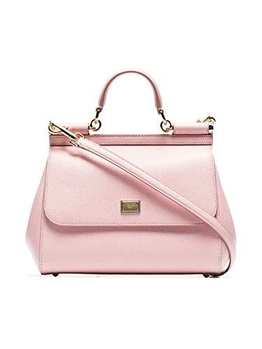 Dolce E Gabbana Borsa A Mano Donna Bb6002a10018h402 Pelle Rosa