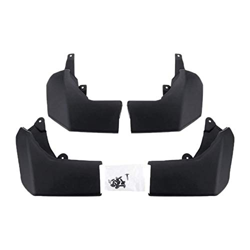Mudguards Wheel Mudguard Car Front Rear Wheel Fenders Mudflap Splash Guards Mudguards Fit For Land Rover Discovery 4 LR4 2010-2019 mudguard bicycle (Color : Black)