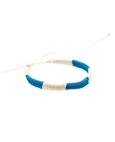 El Ganso Pulsera Bicolor Azul Crudo