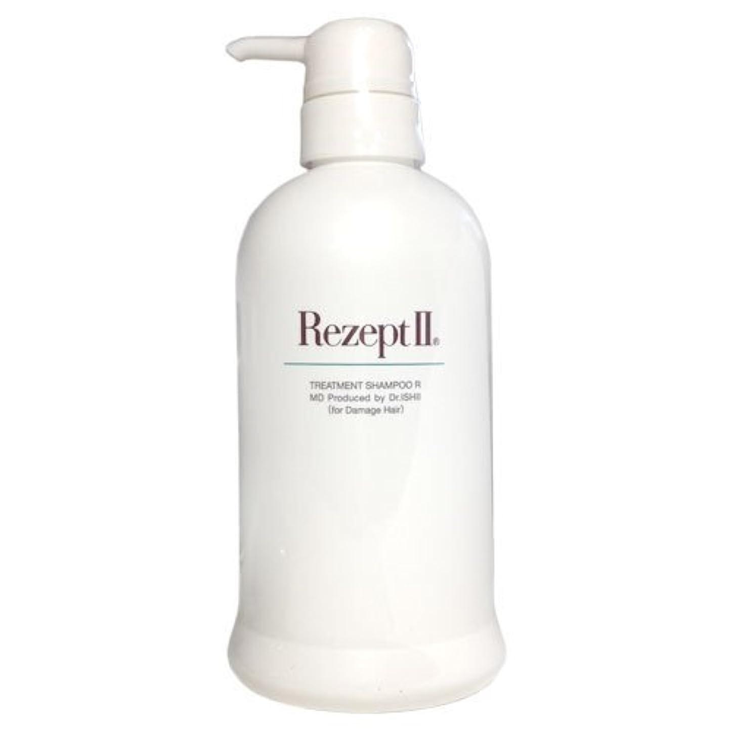 感謝土砂降り基準MD化粧品 レセプト2 トリートメントシャンプーR 500ml(ダメージヘア用)