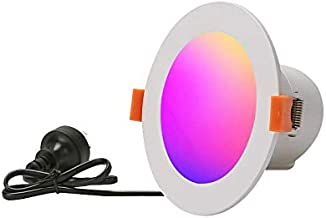 SIXIN 3inch/4inch/6inch; 7W 10W 15W WiFi Smart Downlights,Smart Light Voice Control via Alexa and Google Assistant,WiFi LE...