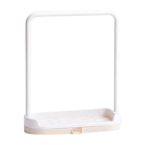 Kongqiabona-UK Paño de Lavado Organizador de Drenaje de Esponja Estante Diseño de Moda Hogar Cocina Toallero de plástico Paño de Lavado de Cocina Soporte de Drenaje de Esponja Organizador de Estante