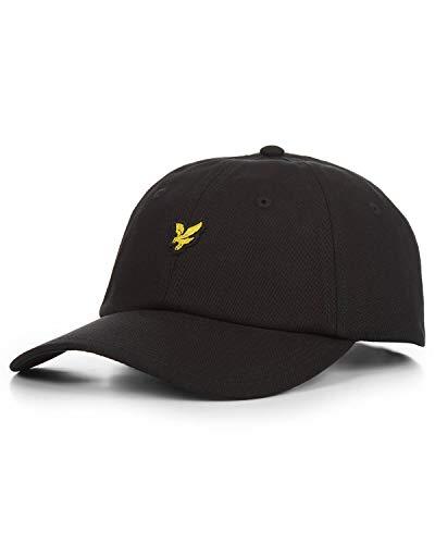 Lyle & Scott Herren Baseball Cap Baseballkappe, True Black, Einheitsgröße