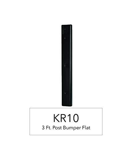 RITE-HITE K & R Manufacturing 3' Flat Vertical Boat Dock Bumper - Comes in Black or White (Black)