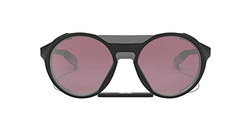 OO9440 Clifden Round Sunglasses, Matte Black/Prizm Snow Black, 56 mm