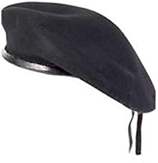 Black Military Army Special Forces Artist Beret