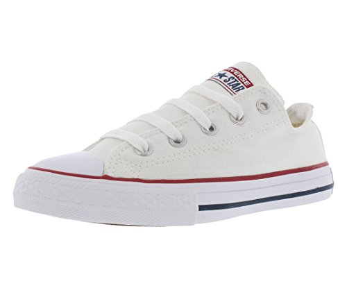 Converse Chuck Taylor All Star, Zapatillas de Lona Infantil, Blanco, 30 EU (12 UK)