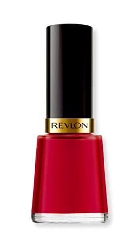 Revlon Nail Enamel, Chip Resistant Nail Polish, Glossy Shine Finish, in Red/Coral, 680 Revlon Red, 0.5 oz