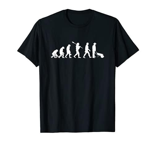 Gärtner Evolution Mann Landschaftsgärtner T-Shirt