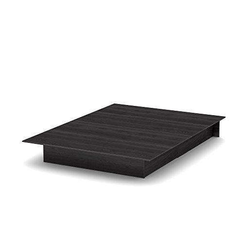 South Shore Step One Platform Bed with 2 Drawers, Full/Queen...