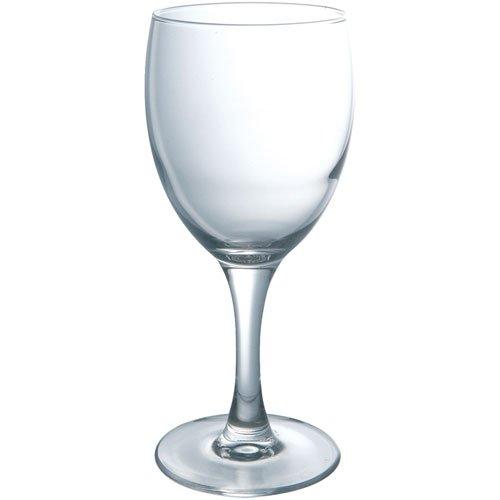Luminarc E5053 Elegance - Juego de 3 copas de vino, transparente, 19 cl