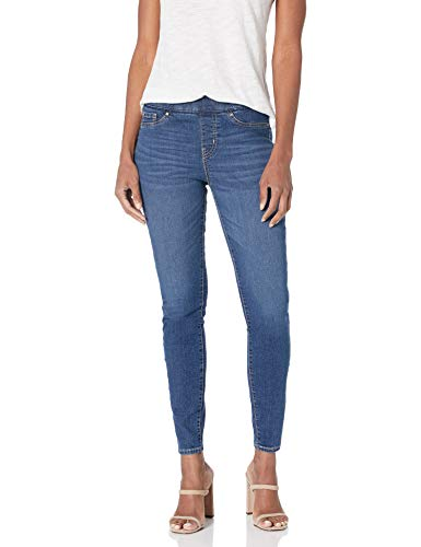Signature by Levi Strauss & Co. Gold Label Women's Totally Shaping Pull-on Skinny Jeans, Sun Worshipper, 18