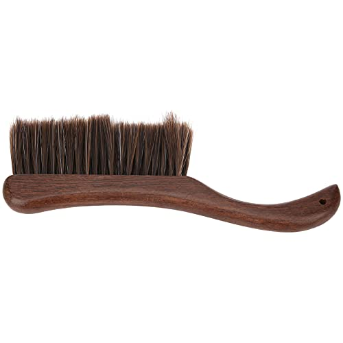 Cepillo de limpieza para instrumentos desplumados, cepillo para quitar el polvo, fuerte y duradero, alto factor de seguridad con mango de madera para hombre, hogar, tienda para mujer