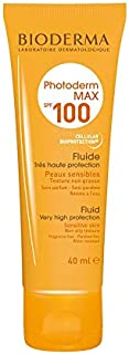 Bioderma Photoderm Max Fluid SPF 100 Face and Body Sunscreen, 40 ml