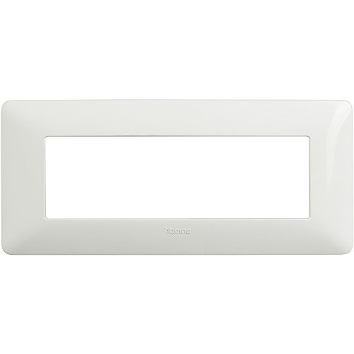 Bticino AM4806BBN Placca 6 Moduli, Bianco