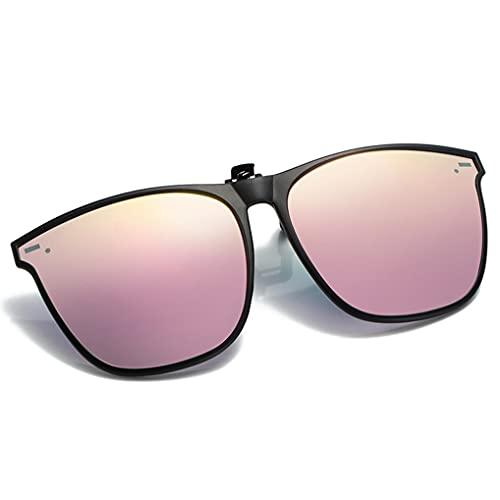 LIPIODOL Gafas de Sol Polarizadas Flip up Gafas de Sol para Mujer Hombre Gafas Flip Up Gafas De Sol Gafas Conducir Sin Montura