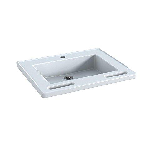 Pressalit R2021 MATRIX Waschbecken Waschtisch barrierefrei behindertengerecht Senioren (60 x 49 x 13 cm) ohne Überlauf
