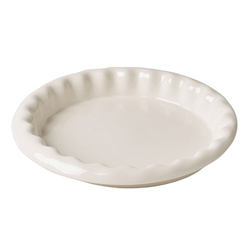 Villeroy & Boch Clever Baking Tarte-Backform, Premium Porzellan, Weiß, 31 x 31 x 9 cm