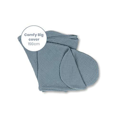 Doomoo Basics – Comfy Big Cover Tetra Stillkissenbezug 190 cm – Stillkissenbezug für das Größte Unserer Stillkissen – Verleihen Sie Ihrem Multifunktionskissen Einen Neuen Look Mit Natürlichen Farben