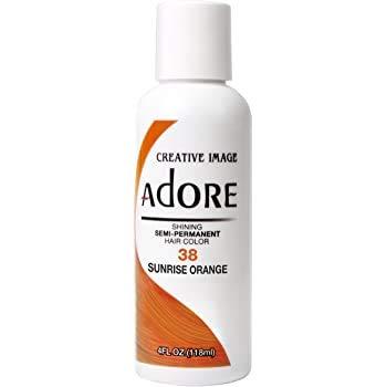 Creative Image Adore 38 Sunrise Orange Hair Color 118 ml