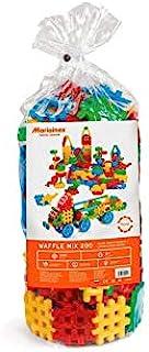 Marioinex 900017 Waffle Blocks Mix, 200 Pieces, Multi-Colour