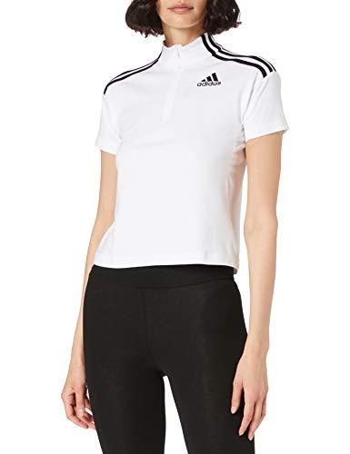 adidas GL9485 W SP Tee T-Shirt Donna White M
