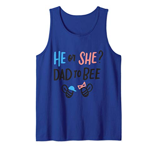 Género Revelar Lo Que Va A Abeja El O Ella Papá A Abeja Camiseta sin Mangas