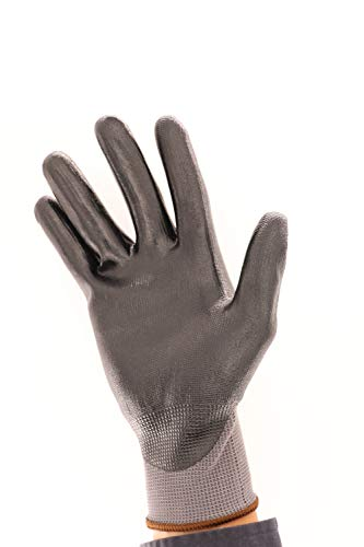 Bexel High-Dexterity Form Nitrile Coated Work Gloves, Heavy duties, Excellent Abrasion resistance (Large)