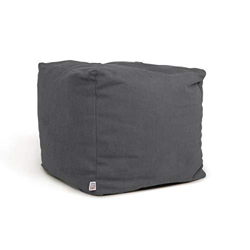 Tabouret Cube Patschwork Design Lavish Pouf 210 Bean Bag Motif Cuir 45 cm x 45 cm Beige//Acheter en Ligne Pas Cher
